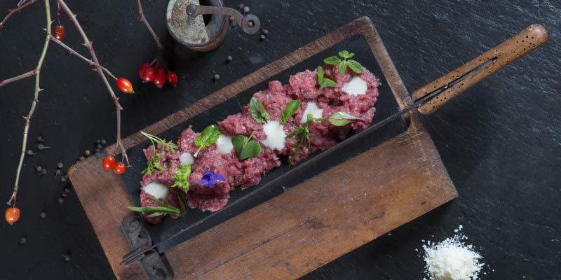 Specialitiy of Restaurant Le Case Macerata