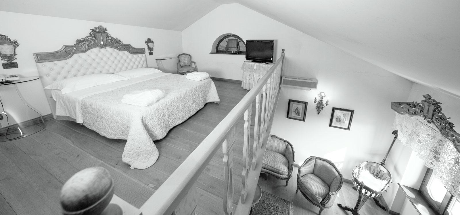 Suite del Resort Le Case a Macerata