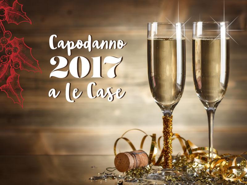 Cenone di Capodanno 2017 al Ristorante Le Case a Macerata