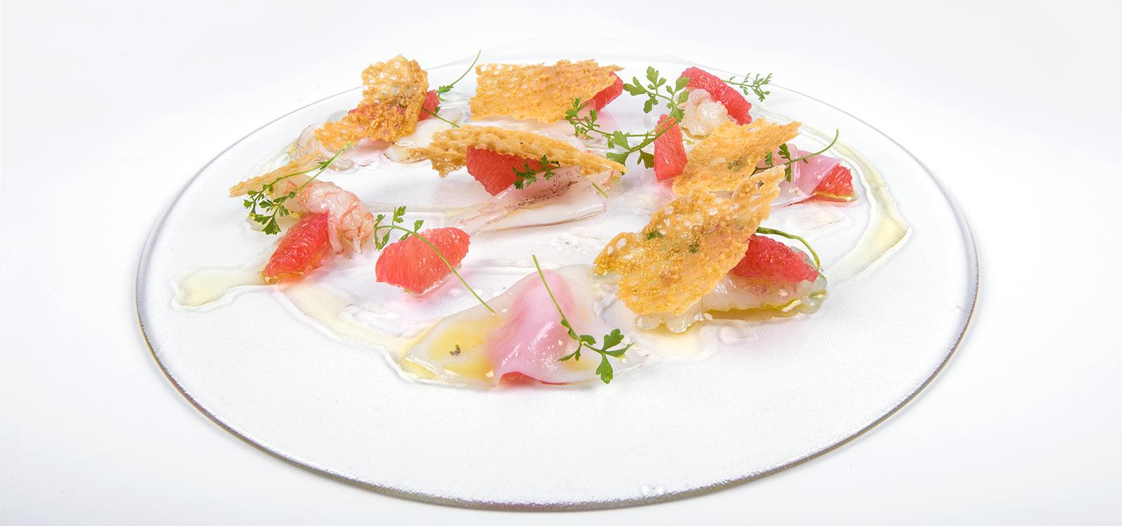 Crudo di pesce l'Enoteca Macerata