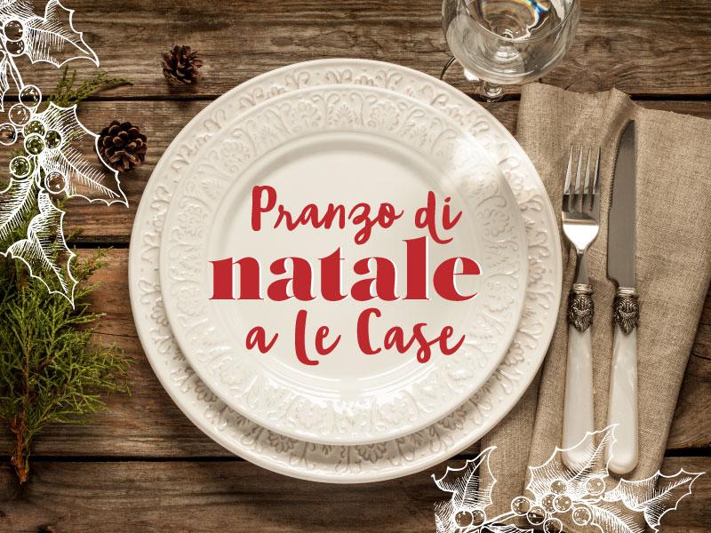 Pranzo di Natale 2016 al Ristorante Le Case a Macerata